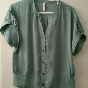 Like new. Button down blouse