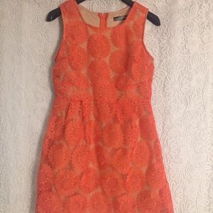 Crystal Doll Dresses & Skirts - Floral Orange Dress