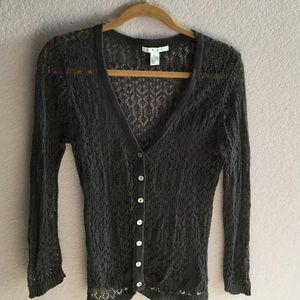 Gray Cabi Sweater