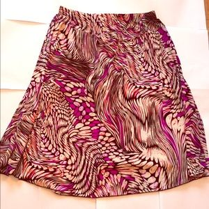 Dresses & Skirts - NWOT Pink Edward Munch Print Skirt Size Large/XL