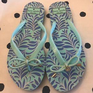 New! Kate Spade flip flops ♠️
