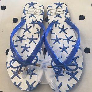 New! Kate Spade flip flops ♠️️