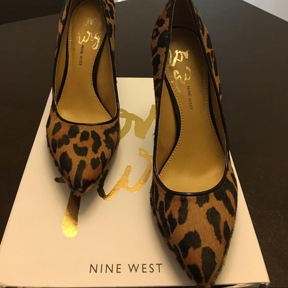 Nine West Shoes - Nine West cheetah print (pony hair) pumps, size 7