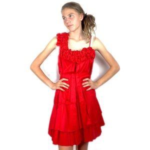 Miss Me Dresses & Skirts - Miss Me Couture Pleated Salsa Dress M