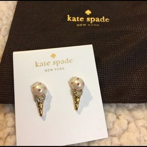 kate spade Jewelry - 🍦KATE SPADE ICE CREAM EARRINGS