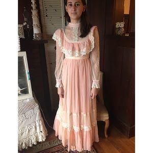Gunne Sax Dresses & Skirts - Vintage Peach Gunne Sax Dress