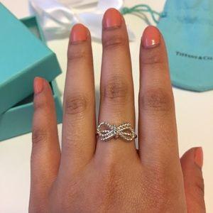b27dadf15 Tiffany & Co. Jewelry | Tiffany Co Twist Bow Ring Nib | Poshmark