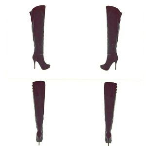 Wild Diva Shoes - OTK boots taking offers on these 💕💕5.5 NWT