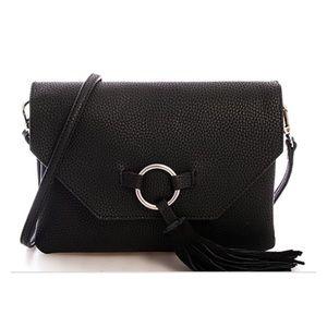 Handbags - Pebbled Vegan Leather Crossbody