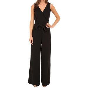 Sanctuary Pants - Sanctuary Black wide leg vneck jumpsuit size sm
