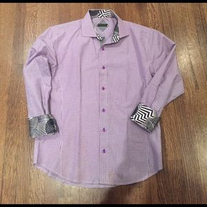 BespokeFit Other - Purple Button Down