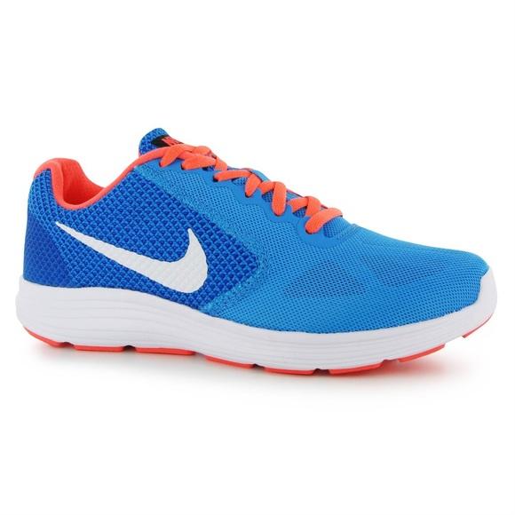 huge discount aa608 73c57 New Nike Revolution 3 Bright Blue Running Shoes. M 58b219e74127d071390402c9