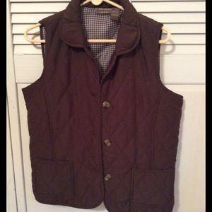 Jane Ashley Jackets & Blazers - Ladies brown quilted vest