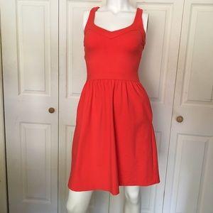 Cynthia Rowley coral dress xs