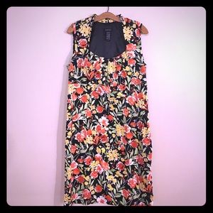Lilly Pulitzer for Target Dresses & Skirts - ✨Sale✨Gorgeous Black Floral Dress 14 EUC Colorful
