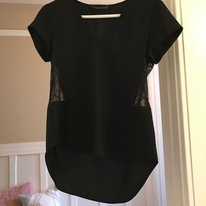 Zara Tops - Zara lace cut out top