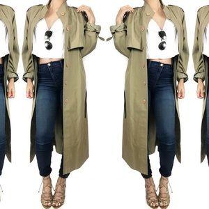 Vintage Jackets & Blazers - Vintage trench coat