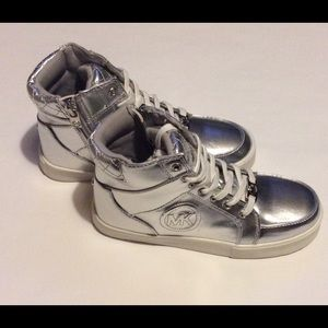 Michael Kors Other - Michael Kors High Top Sneakers Cali Shelby New