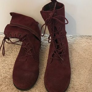 Seychelles Shoes - Maroon boots