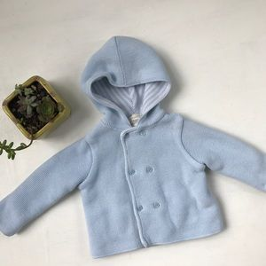 Nordstrom Baby Other - Nordstrom Baby Knit Hooded Pea Coat