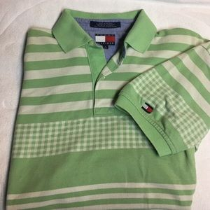 TOMMY HILFIGER Gingham Polo Shirt