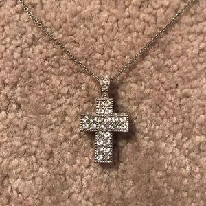 Swarovski Jewelry - Swarovski Cross Necklace