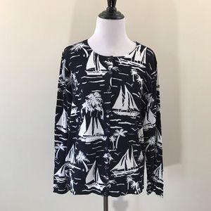 Charter Club Sweaters - Preppy Tropical Cardigan