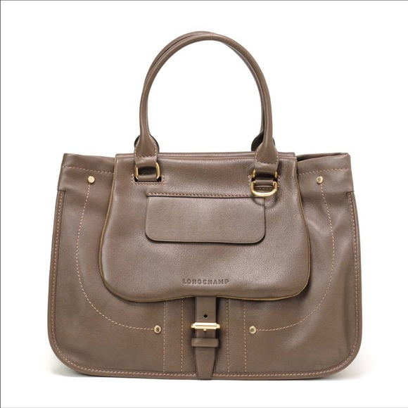 85bbfe6097 Longchamp Bags | Balzane Leather Shoulder Bag Make Offer | Poshmark