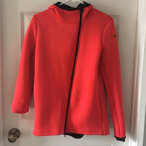 40df09ec2 Nike Jackets & Coats | Neoprene Hood Track Jacket | Poshmark