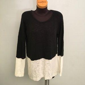 AB Studio Sweaters - Color block Sweater