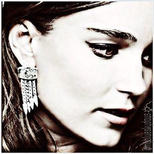 Jewelmint Jewelry - JewelMint Western Dreams Silver Tribal Earrings 💗