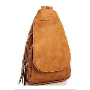 Handbags - Trendy Vegan Leather Backpack