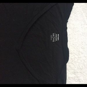 Old Navy Tops - XXL old navy relaxed black vneck tshirt
