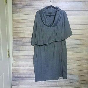 PLUS SIZE Lane Bryant Grey Dress