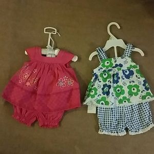 First Impressions Other - New 0-3 months dresses bundle