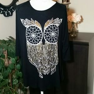 Krush Tops - Cute Owl top