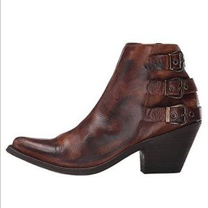 Old Gringo Shoes - Handmade real buffed leather booties. Amazing!