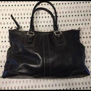 Coach Handbags - Coach black leather purse