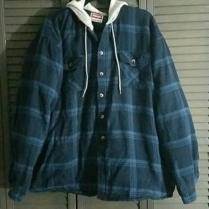 Wrangler Other - LAST CHANCE! Wrangler Plaid Hoodie Jacket