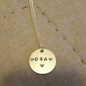 Jewelry - Hand stamped Necklace