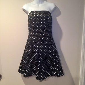 Jessica McClintock Dresses & Skirts - Jessica McClintock black polka for dress. Size 7/8
