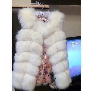Bonton Jackets & Blazers - Faux fur (NWT)