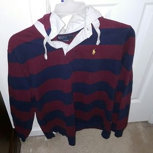 Polo by Ralph Lauren Other - Mens Polo Shirt with Hood & Long Sleeve