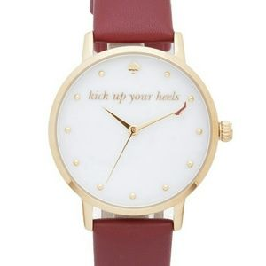 "NWT!!KATE SPADE""KICK UP YOUR HEELS""METRO WATCH"