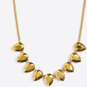 J. Crew Teardrop Gemstone Necklace