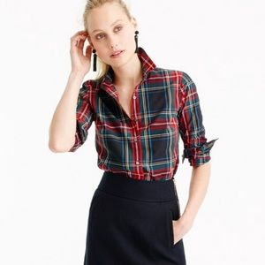 J.crew Stewart plaid shirt