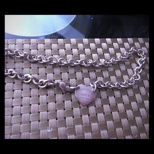 Tiffany & Co. Jewelry - 100% Authentic Tiffany & Co. Heart tag choker 💕
