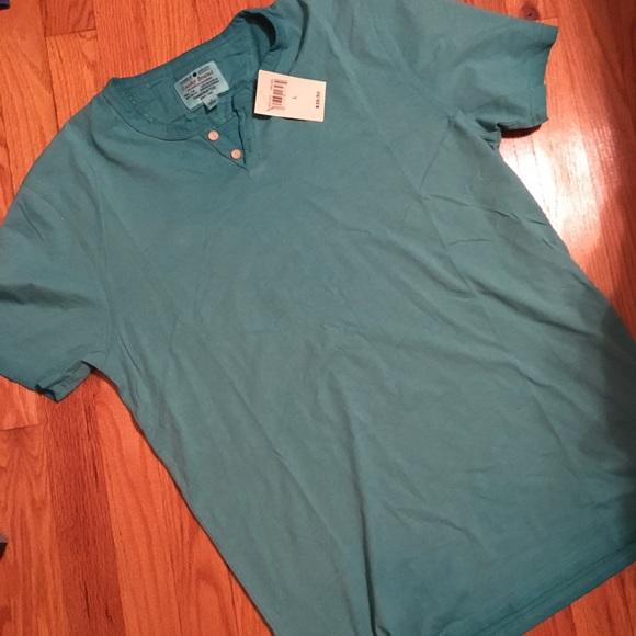 bf597bca4 Lucky Brand Shirts | Mens Two Button Henley Shirt | Poshmark