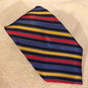 Altea Other - Altea Navy, Red, Gold & Blue Stripe Tie