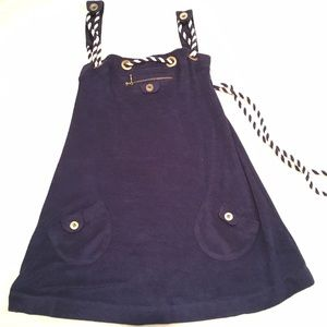 LaRok Other - LaRok navy terry cloth dress/cover up